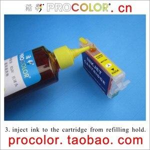 PROCOLOR XP T200i  CISS ink Refill Dye ink special for for EPSON XP-100 XP100/XP-200/XP-300/XP-310/XP-400/XP-410 XP410 XP 410