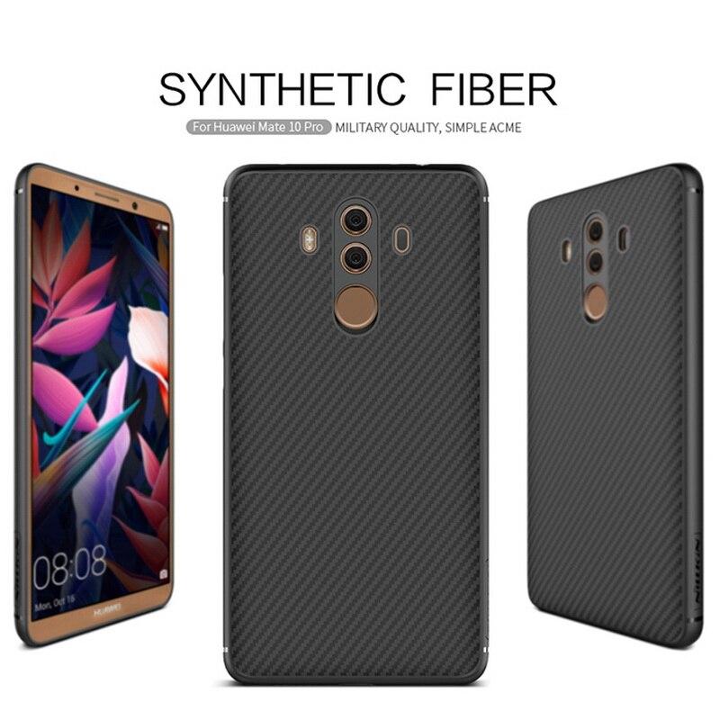 Funda trasera rígida NILLKIN de fibra sintética para Huawei Mate 10 pro de gran calidad para Huawei Mate10 pro de 6,0 pulgadas