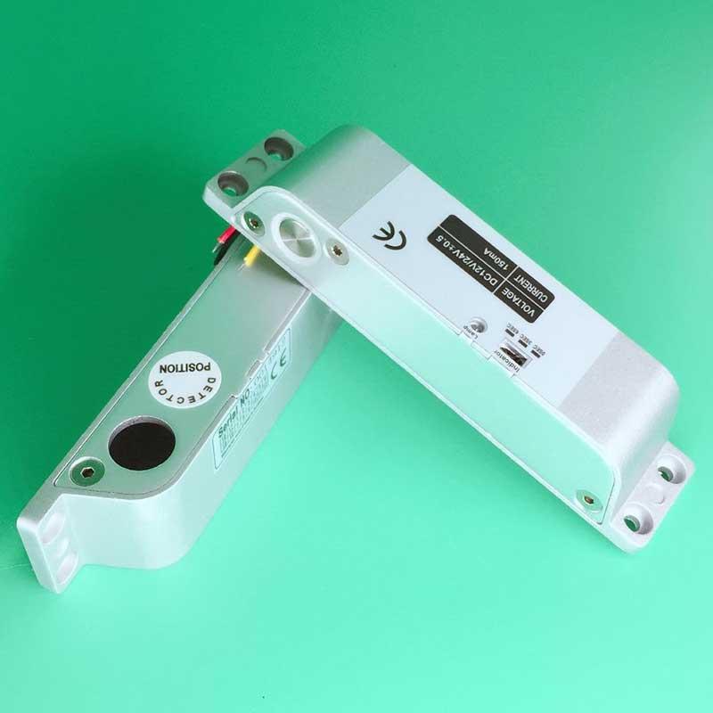 Sistema de controle de acesso eletrônico da fechadura da porta do parafuso eletrônico dc12v rfid