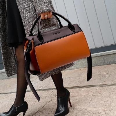 العلامة التجارية حقيبة جلدية المرأة رسول Crossbody ترابيز حقائب حقائب سيدات سعة كبيرة جيب الفاخرة الإناث حمل الماركات الشهيرة