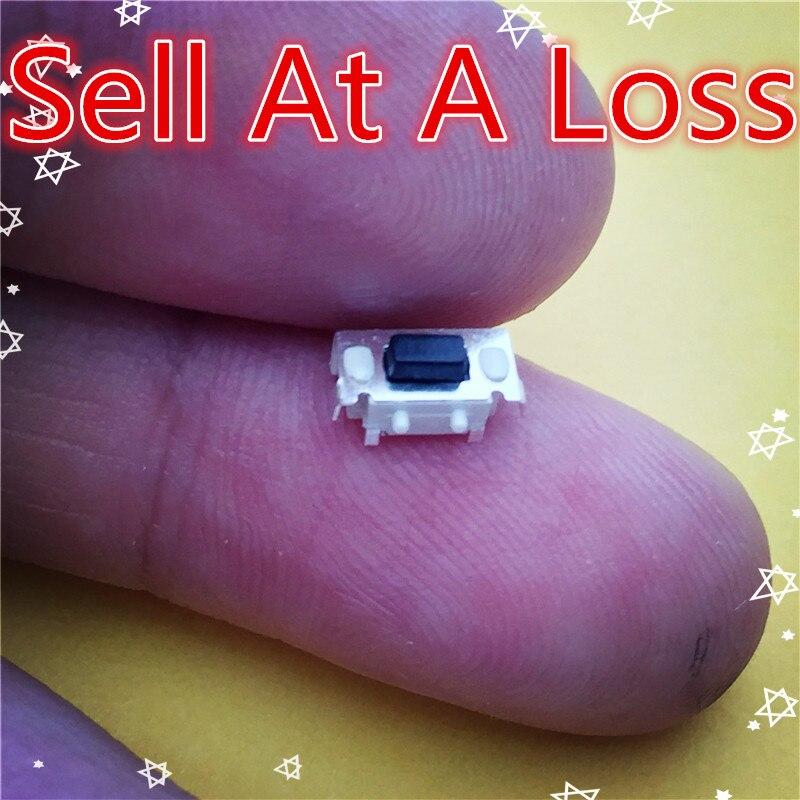 Многофункциональная тактильная Кнопка SMT 3X6X3.5MM, 2 pin, с микро-переключателем G71, 50 шт.