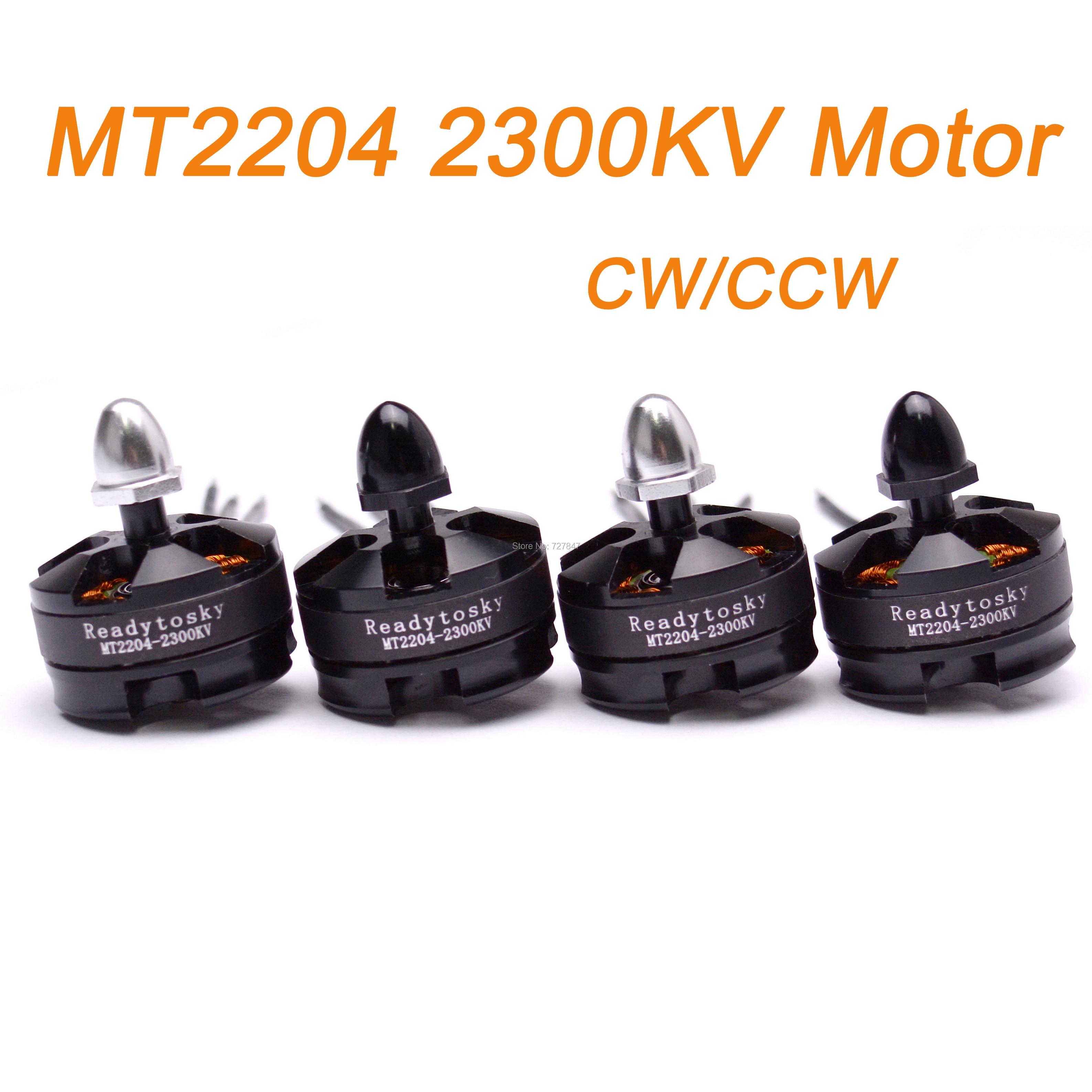 Motor sin escobillas CW / CCW MT2204 2204 2300KV, Quadcopter 250 QAV250...