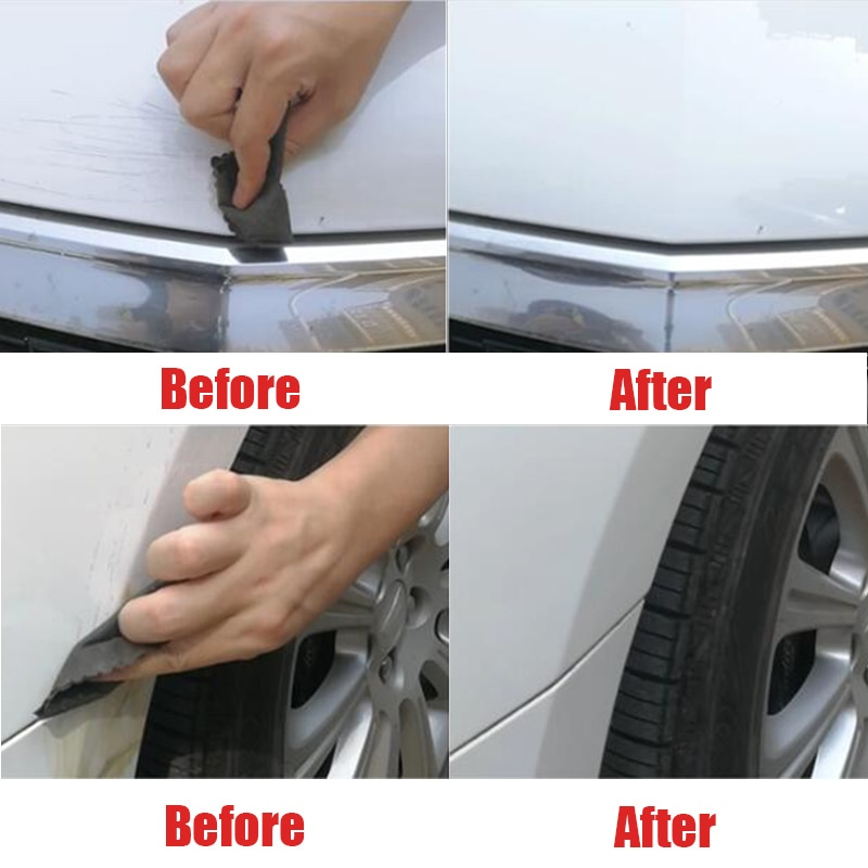 Reparación de rayaduras de coche paño polaco fijar utensilios transparentes cuidado Universal lavar pintura puerta arañazos superficie removedor Scuffs coche accesorios