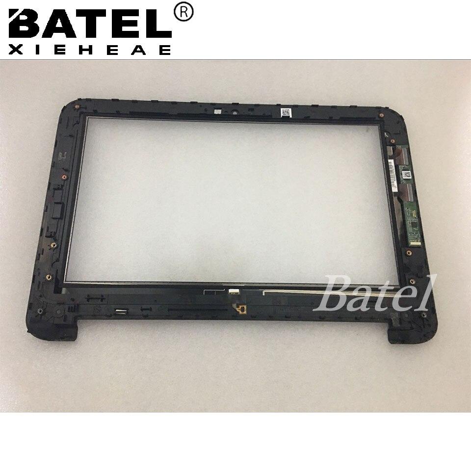 "Reemplazo nuevo 11,6 ""hp x360 táctil digitalizador de pantalla para hp pabellón X360 11-N 11-n010dx con marco bisel AP150000200"
