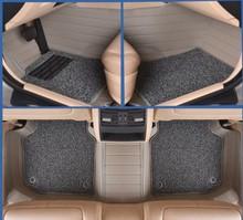 Myfmat-tapis de sol pour AUDI A4L A6L Q3 Q5 Q7 A7 A3 BMW 320i 328li 316i Mini One benz GLK300 C200L GLK260 C180L auto chaud