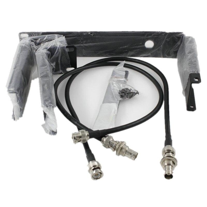 ¡Envío Gratis! SLX14/SLX24 soporte de montaje para micrófono inalámbrico Bracket2 90AF8200 Kits de Rack para receptor de micrófono inalámbrico SLX