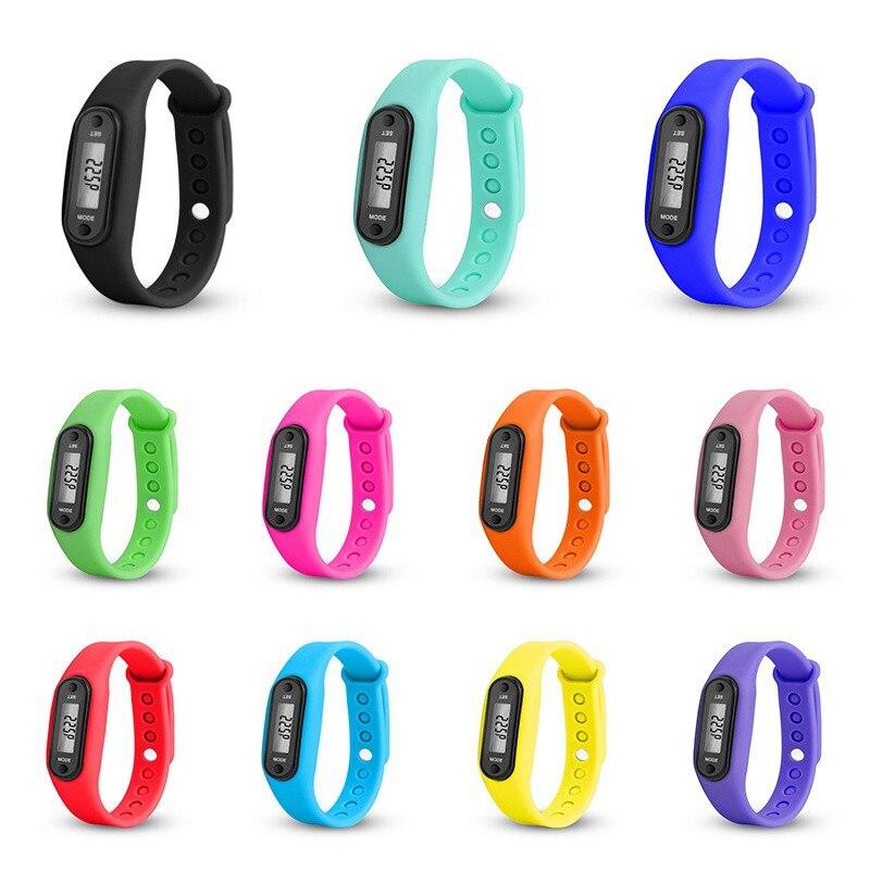* El reloj deportivo de pulsera más nuevo, podómetro para correr, medidor de calorías, contador de calorías, monitor de pasos, podómetro Digital LCD *