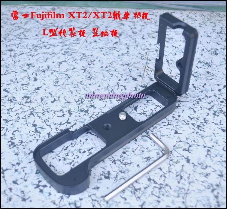 L Hand Grip Quick Release Plate Tripod Bracket For Fujifilm Fuji X-T2 XT2 XT1 XT-1 Camera Arca Swiss Tripod