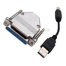 Contrôleur de routeur USB à adaptateur parallèle USB CNC pour MACH3 LY-USB100 UC100