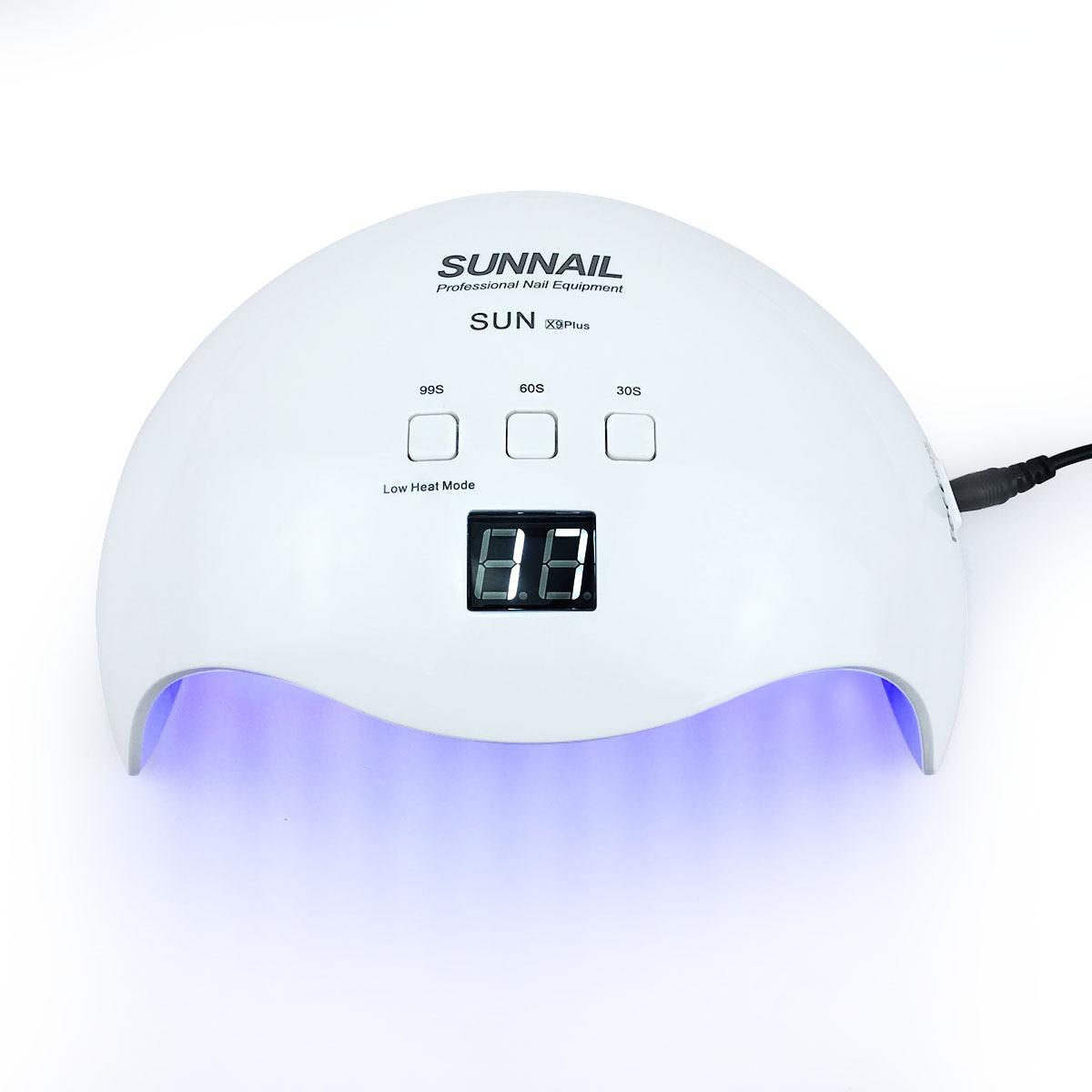 100-240 V Lâmpada SUNX9 Plus 48 W Lâmpada UV Do Prego LEVOU Gelo Lâmpada Gel Unha Polonês Máquina de Secar Roupa para Todas As Unhas de Gel Arte Cura Lâmpadas