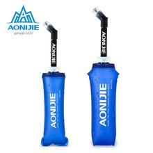 AONIJIE extérieur pliant doux longue paille en plein air bouteille de boisson voyage Sport Camping randonnée sac à eau 170 ML 250 ML 500 ml