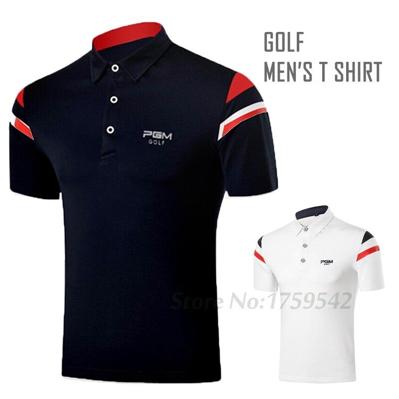 ¡NOVEDAD DE 2017! Ropa de Golf, camiseta de manga corta para hombre, ropa de verano para hombre, camiseta Polo