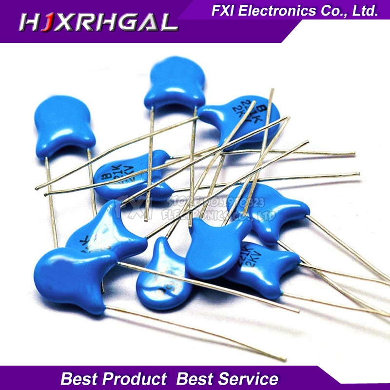 20pcs High voltage Ceramic Capacitor1KV 2KV 3KV 5PF 30PF 47PF 56PF 100PF 220PF 1NF 2.2NF 3.3NF 4.7NF 10NF 100NF 471 222 223 103