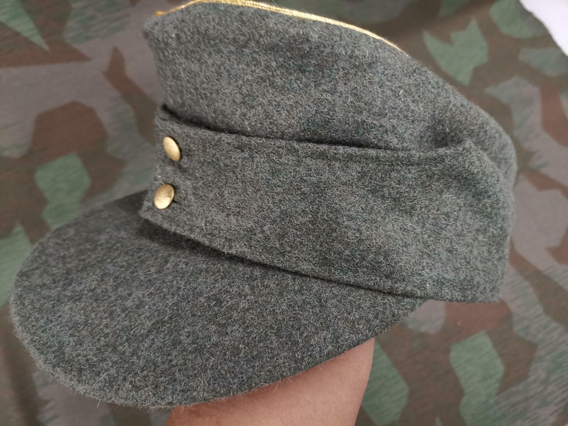 WW2 E.M.D. M43 ضابط قبعة ، صوف