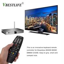 Control remoto decodificador para Dreambox DM800 800HD 800SE DM800 Serie C/S/SE Dispositivo de TV inteligente Control remoto