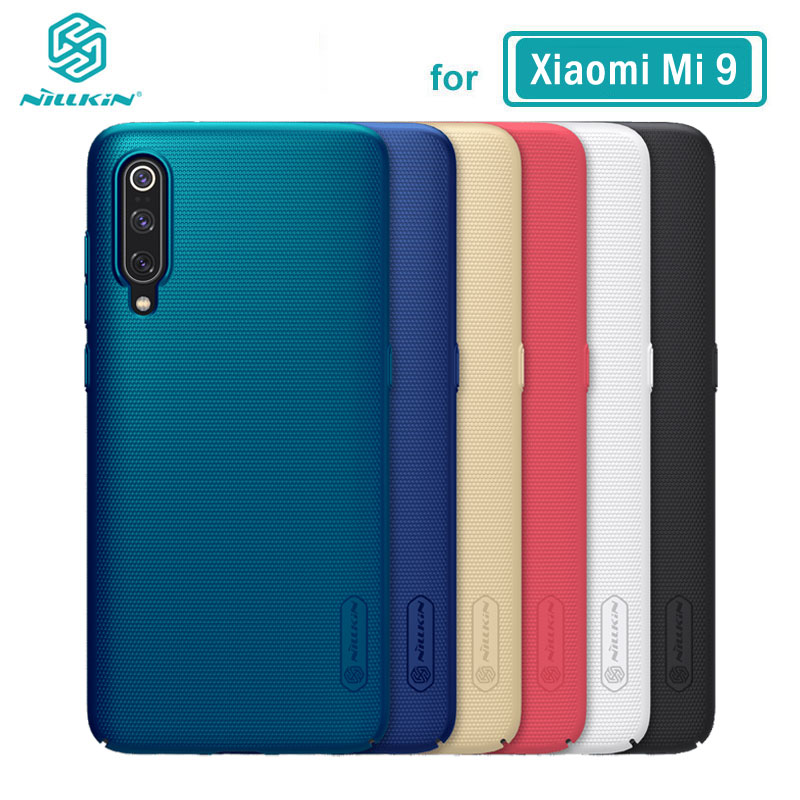 Xiaomi Mi 9 Case Nillkin Frosted Shield PC Hard Back Case for XiaoMi Mi9 SE Mi 10 10T Lite 9T Pro 5G