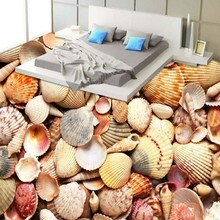 Free Shipping 3D Surf Seat Living Room Flooring self-adhesive corridor bathroom flooring wallpaper mural home decoration