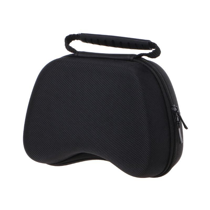 Paquete de Gamepad de nailon con mango rígido, bolsa portátil con cremallera a prueba de polvo/golpes, funda protectora rígida, bolsa de almacenamiento para Xbox One/Switch Pro/P