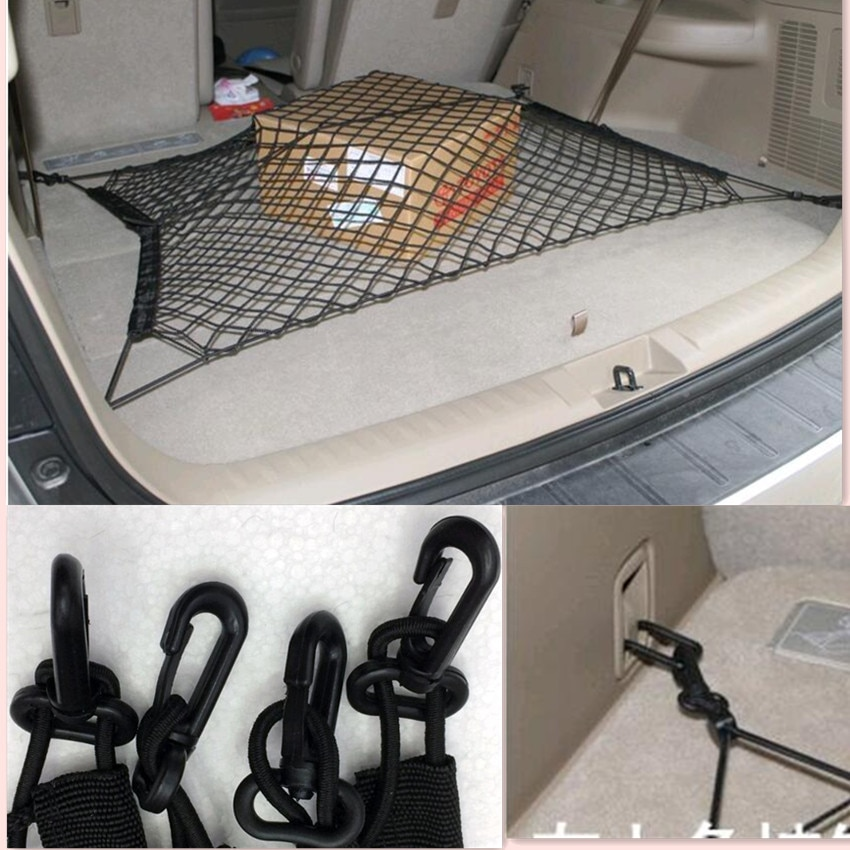 CAR TRUNK ENVELOPE CARGO NET FOR Hyundai Solaris Accent I30 IX35 Tucson Elantra Santa Fe Getz I20 Sonata I40 I10 accessories