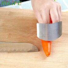 HILIFE acier inoxydable accessoires de cuisine protège-main couteau coupe outil de sécurité doigt garde
