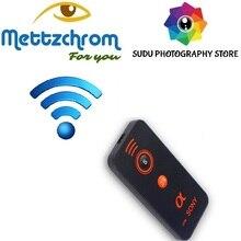 Para cámara Sony A6000 A6300 A6500 NEX 5 5 5 6 6 7 inalámbrico por infrarrojos mando con Control remoto de liberación