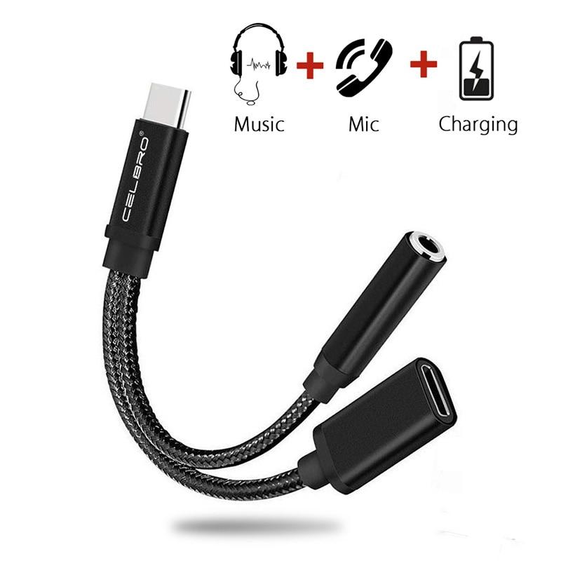 Usb Тип C 3,5 мм 3,5 мм Aux адаптер и зарядка наушников аудио зарядный адаптер для Samsung Galaxy A60 Huawei Xiaomi