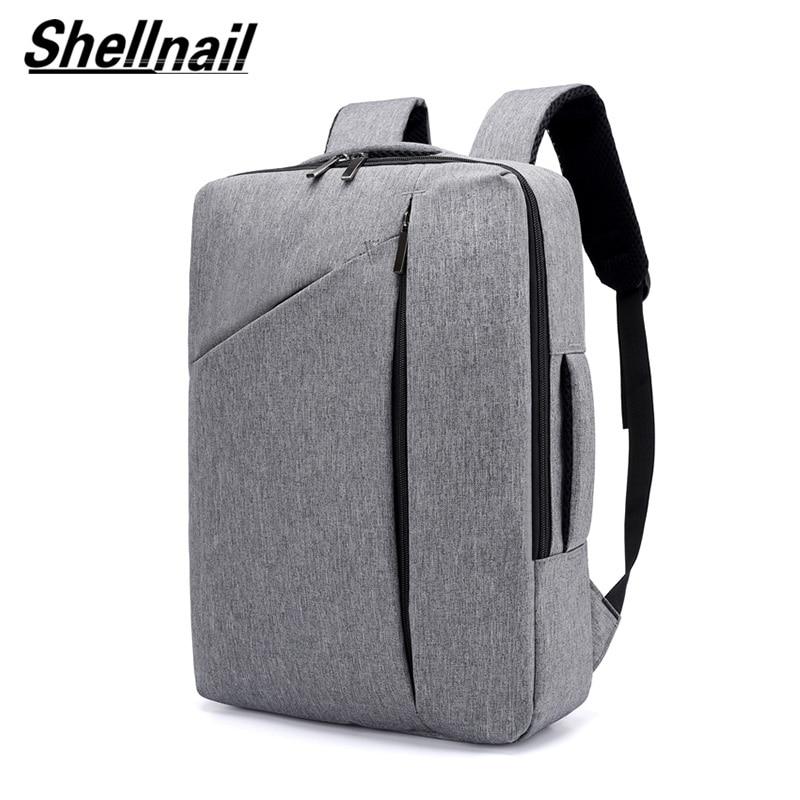 Shellnail-حقيبة ظهر ذات سعة كبيرة للرجال ، حقيبة سفر ، كمبيوتر محمول ، أعمال ، 15.6 بوصة