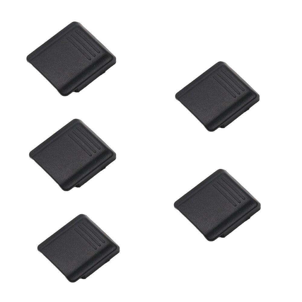 5 uds BS-S Cámara cubierta para zapata tapa para Sony Alpha a100/a200/a300/a350/a500/a550/a700/a750/a850/a900...