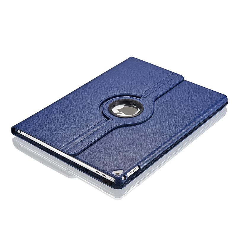 Para Apple iPad Pro 12,9 pulgadas A1584 A1670, funda para tableta, soporte plegable giratorio 360, Funda de cuero PU