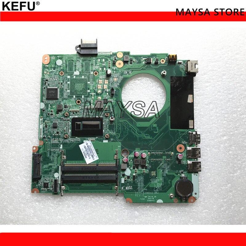 High Quality 732086-001 732086-501 For HP Pavilion 15-N Series Laptop Motherboard DA0U83MB6E0 I5-4200U DDR3 100% Tested