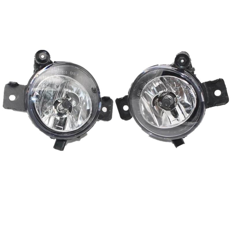 2 uds izquierda y derecha luz antiniebla delantera para automóvil lámpara de niebla de vivienda para BMW X5 serie E70 2007-2010 de piezas de repuesto