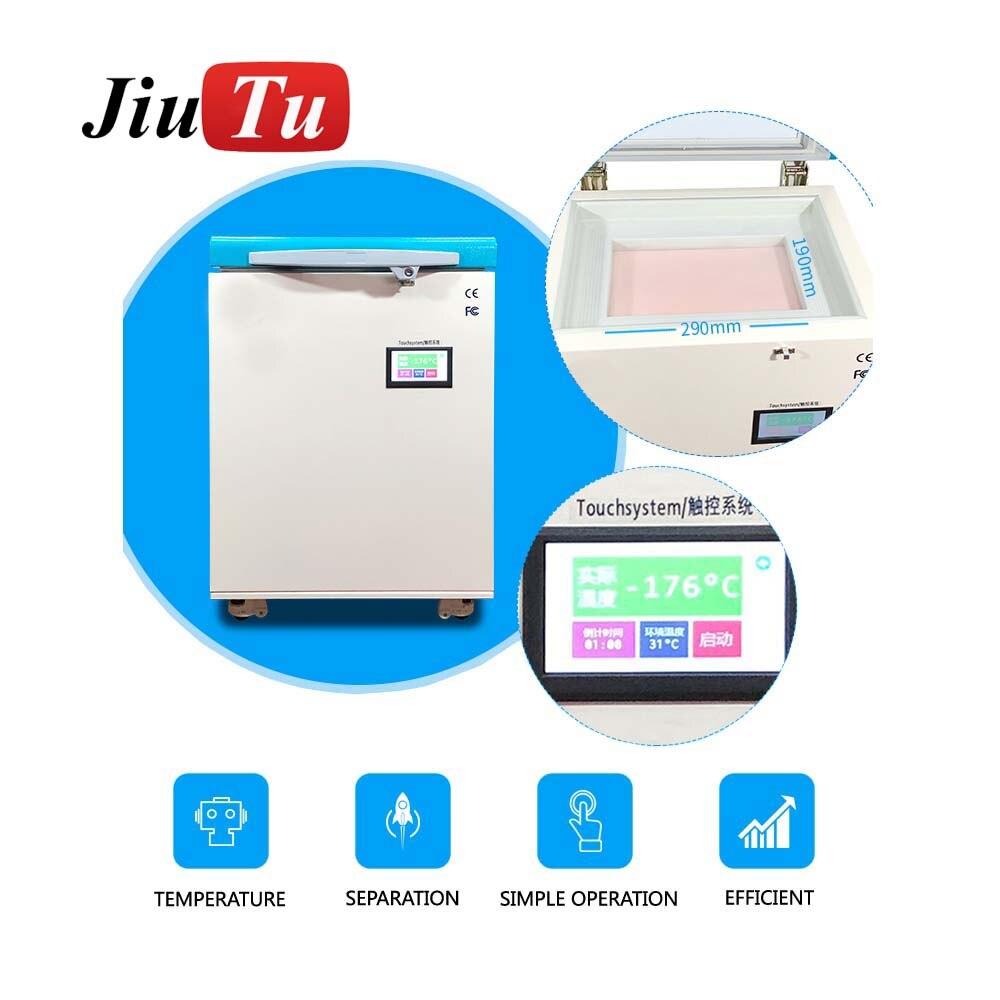 Мини Морозильник с ЖК дигитайзером сенсорный экран машина для замораживания