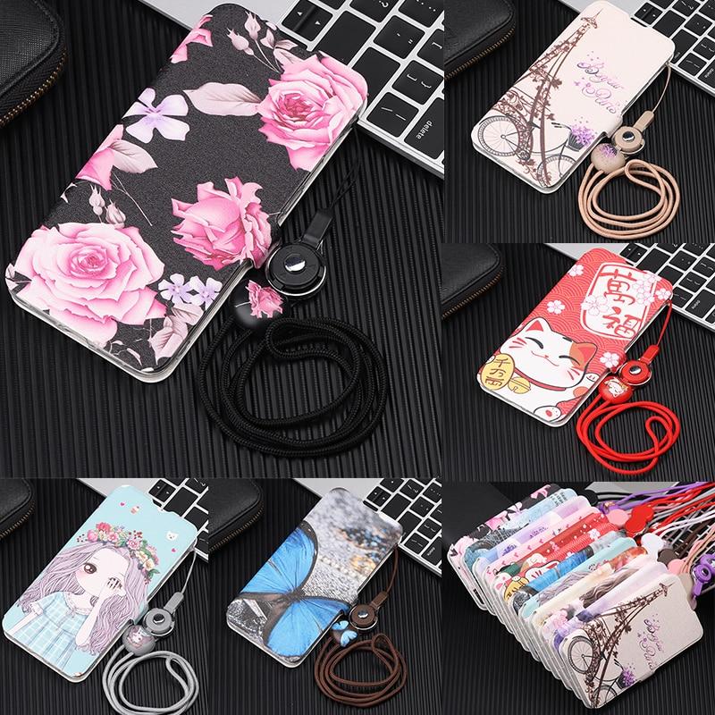 Para Xiaomi Redmi 6 Pro Rrd mi 6A caso de cuero de la PU de la caja del teléfono rojo mi nota 7 Pro 6 caso xiaomi mi MAX3 mi 9 cubierta