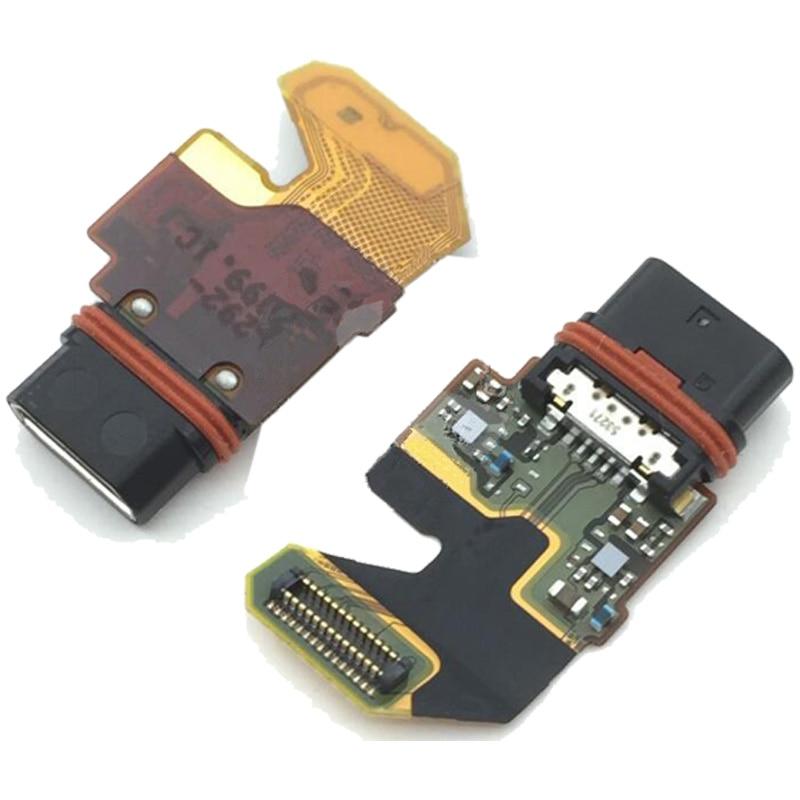 2017 nouvelle meilleure qualité USB chargeur connecteur câble flexible pour Sony Xperia Z5 premium E6853 E6883 Usb port remplacement Micro dock