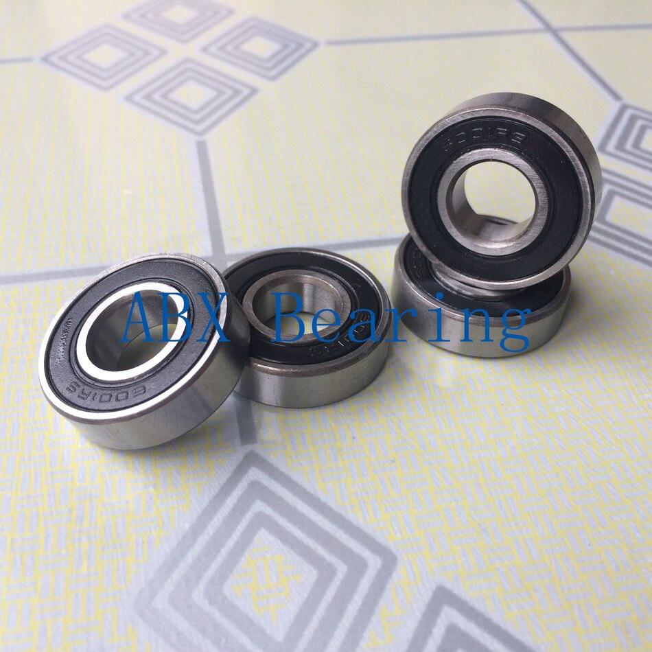 6001-2RS 6001RS 6001 rodamiento de bolas de 12x28x8mm S6001-2RS S6001 2RS 6001ZZ 6001Z rodamiento de cerámica híbrido 440C