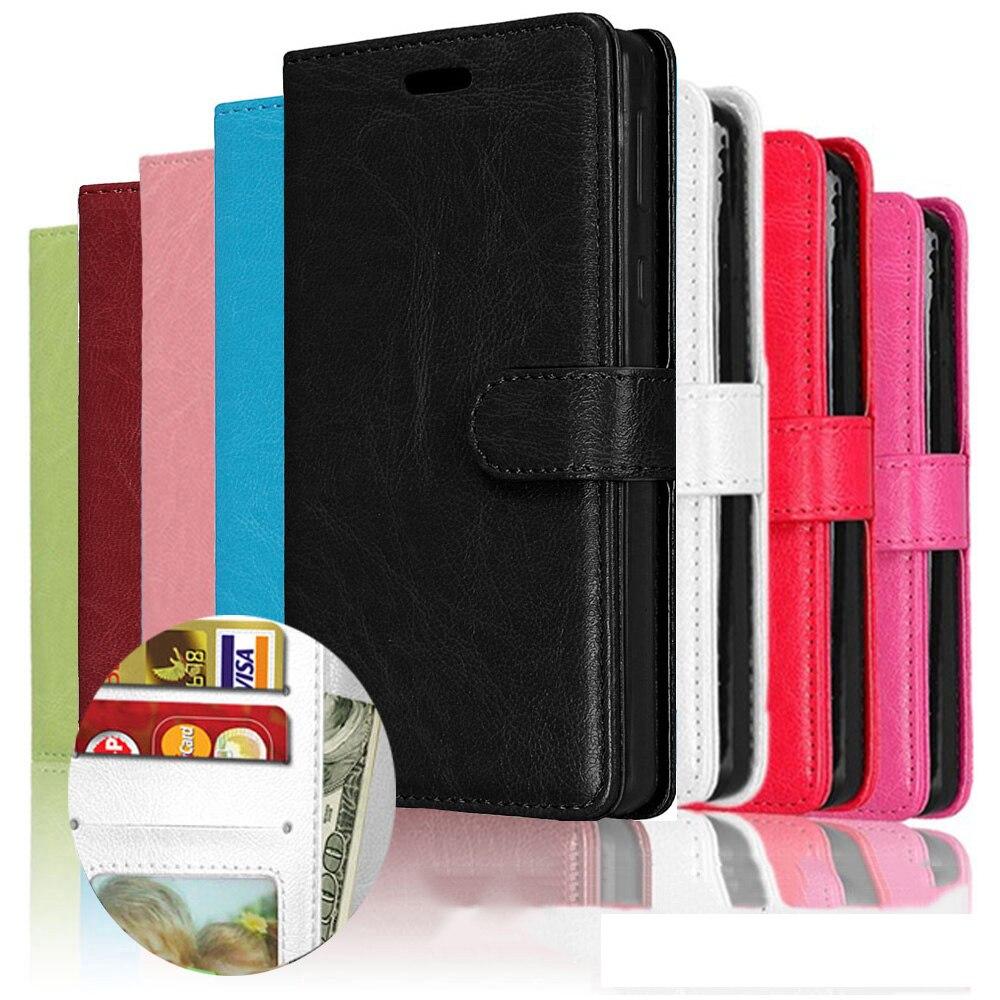 Wallet Phone Cover For BQ Aquaris X Pro U Lite E 4.5 E5 M5 5020 5050 5059 5065 5070 Strike Power Flip PU Leather Silicone Case