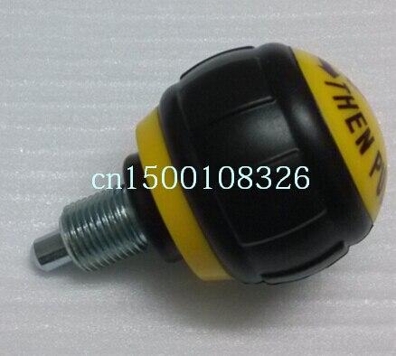 Accesorios para equipos de Fitness, pernos de indexación de émbolos de resorte amarillos M16 * 1,5, hechos en China