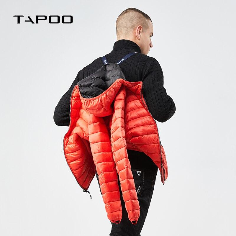 ¡Novedad de 2018! chaquetas de invierno para hombre, abrigo informal de invierno...