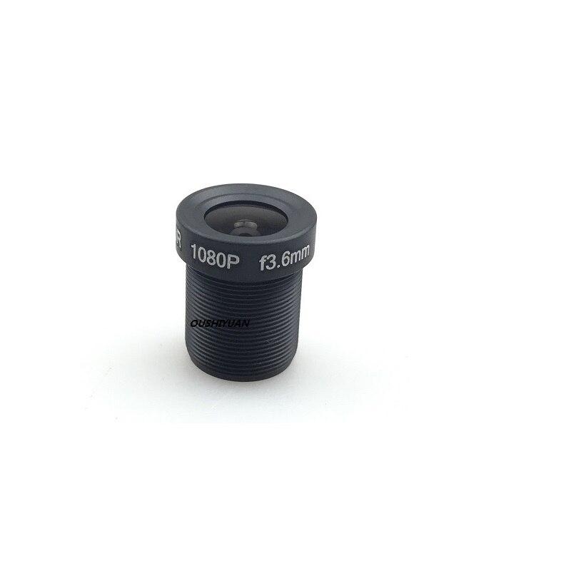 Lente HD para CCTV 3,6mm lente 2,0 megapíxeles MTV M12 x 0,5 montaje visión nocturna infrarroja para cámara de seguridad