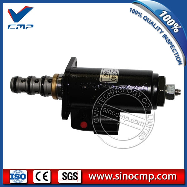 Sinocmp SK210-6E válvula solenóide YN35V00020F1 KWE5K-31/G24DA40 para Kobelco escavadeira