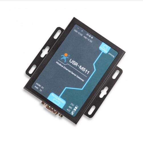 USR-M511 Modbus шлюз последовательный в Ethernet конвертер Modbus поддерживает RTU в TCP/ASCII