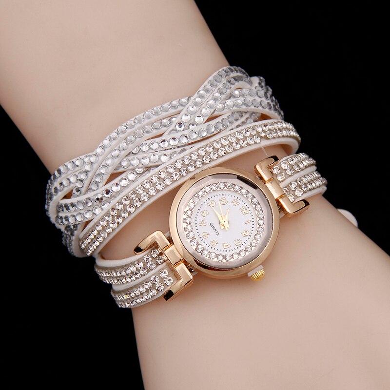 Frauen Casual Quarzuhr Neue Luxus Armband Uhr Strass Korea samt Damen Kleid Uhren Mode Armbanduhr ceasuri