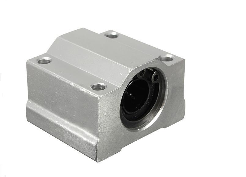 2 unids/lote SC25UU SCS25UU, 25mm, cojinete de bolas de movimiento lineal, casquillo corredizo para CNC