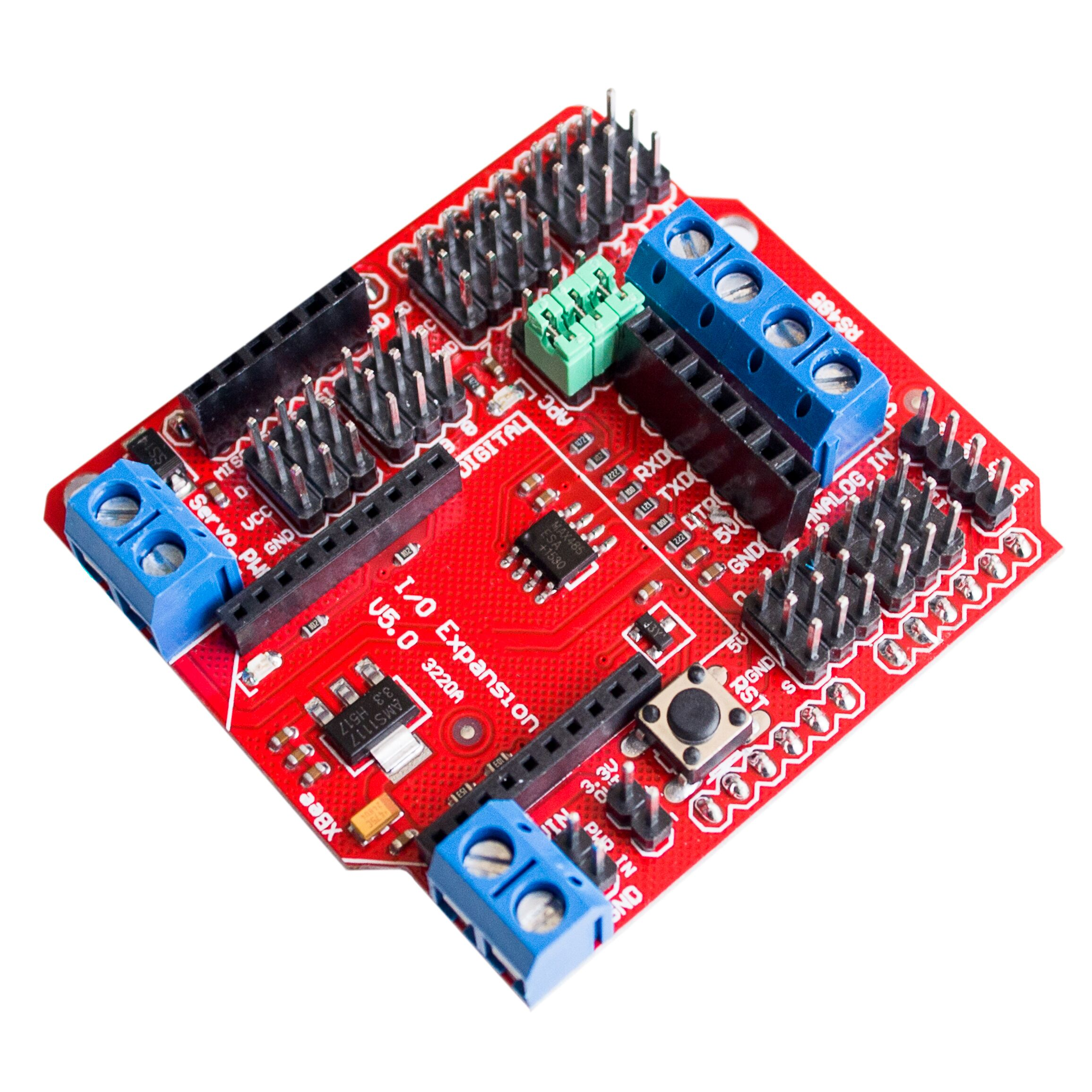 Xbee sensor shield V5 con RS485 y interfaz Bluetooth BLUEBEE para