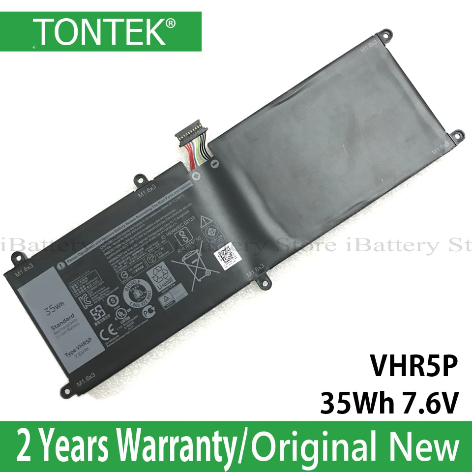 Genuine 11 VHR5P Bateria Para Dell Latitude 5175 Tablet Série XRHWG 0XRHWG RHF3V