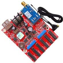 Hot Sale indoor outdoor P10 LED Module Control Card TF-M6UW Mobile WIFI Wireless & USB Driver LED Single 3 Color LED Module