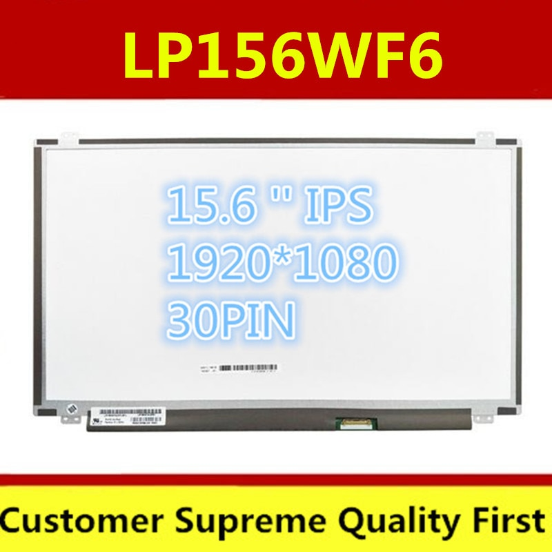 15.6 אינץ ips lcd מטריקס LP156WF4 LP156WF6 SPL1 SPC1 SPK1 SPB1 SPA1 B156HAN01.2 30PIN EDP 1920X1080 מחשב נייד lcd מסך פנל