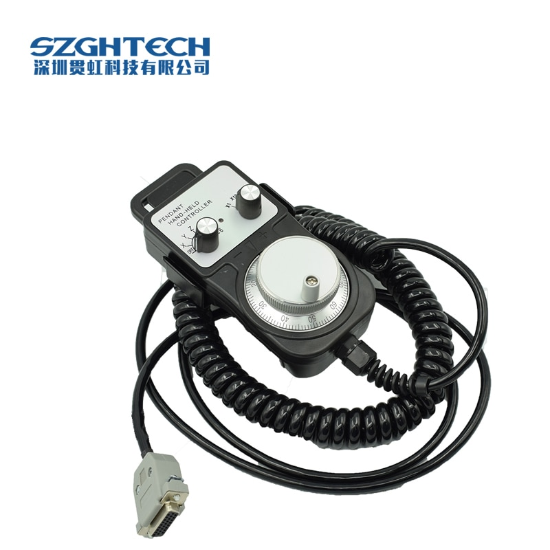 100 мм Диаметр ручной генератор импульсов ЧПУ MPG Датчики числового программного управления 2-6 оси руководство энкодер