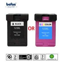 Befon Re-manufacturados 123 XL reemplazo de cartucho de tinta para HP123 HP 123 Deskjet serie 1110, 2130, 2132, 2133, 2134, 3630, 3632, 3637