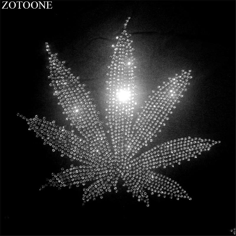 ZOTOONE Flatback claro Strass Hotfix Rhinestone apliques Para la ropa decoración de cristal de Strass Para Artesanato E